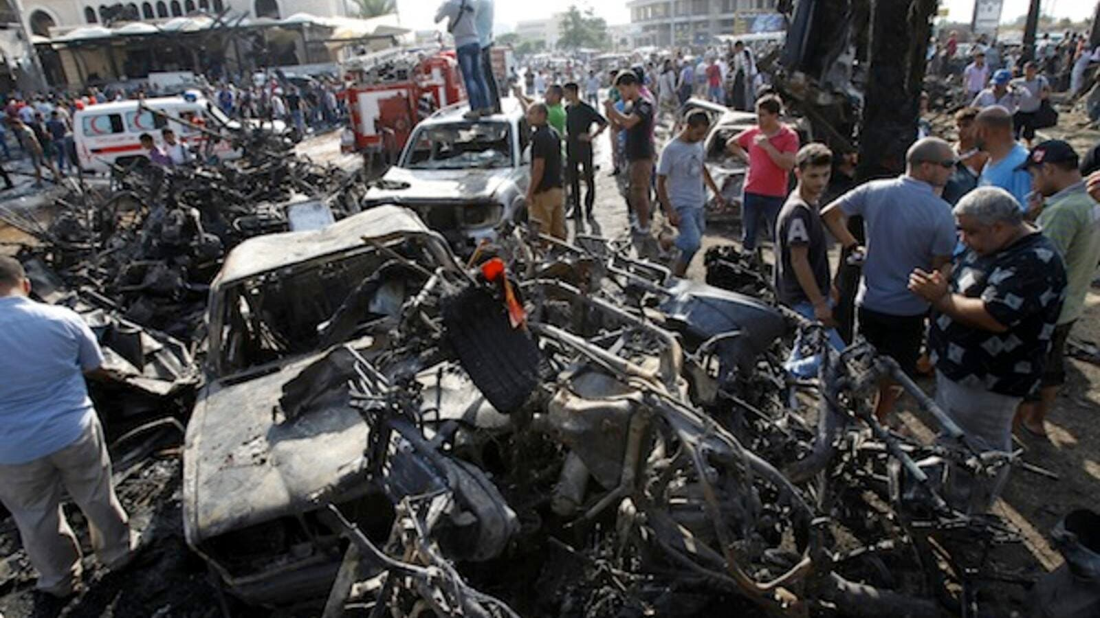 A recent report said that several members of the Arab Democratic Party were behind the twin bombings in the northern city of Tripoli in August, which killed 45 people and wounded more than 800. (AFP/File)