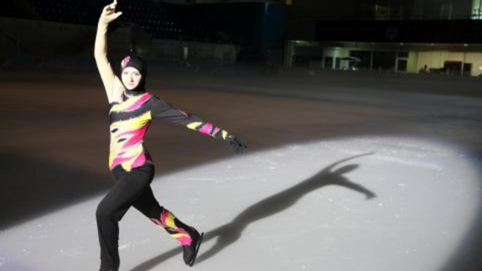 Zahra Lari picked up figure skating later in life, but has made an immediate impact on the sport