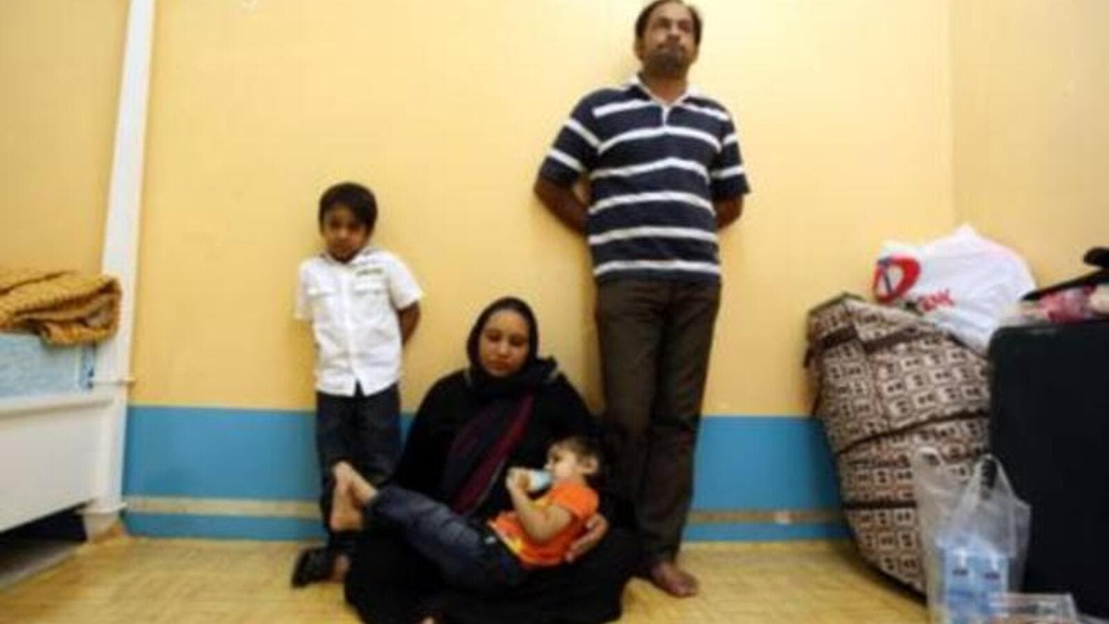 The starving family have begged authorities to put them in jail (Photo: Abdel-Krim Kallouche)