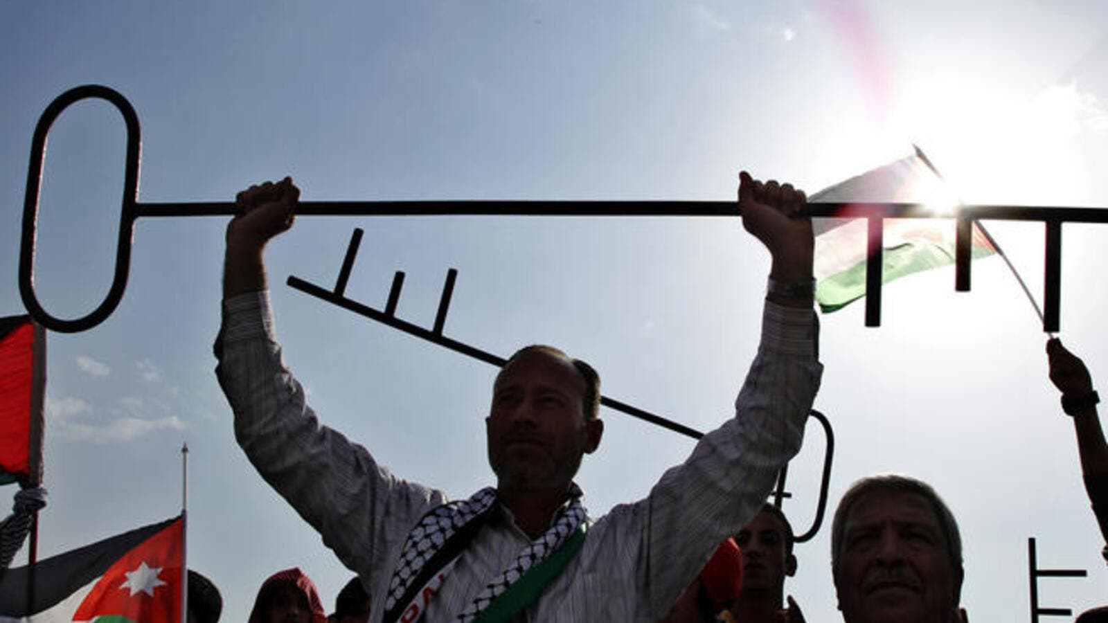The Palestinian right of return could be about to go into effect if Abbas has his way. (Image courtesy of Reuters)