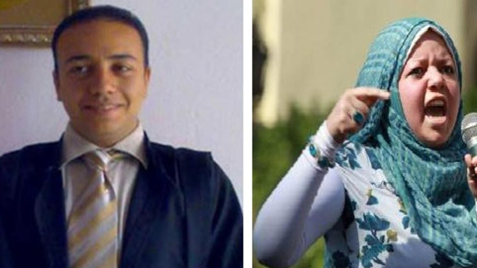 Imprisoned Egyptian lawyer Ahmed El-Gizawi is being defended by his sister Shereen