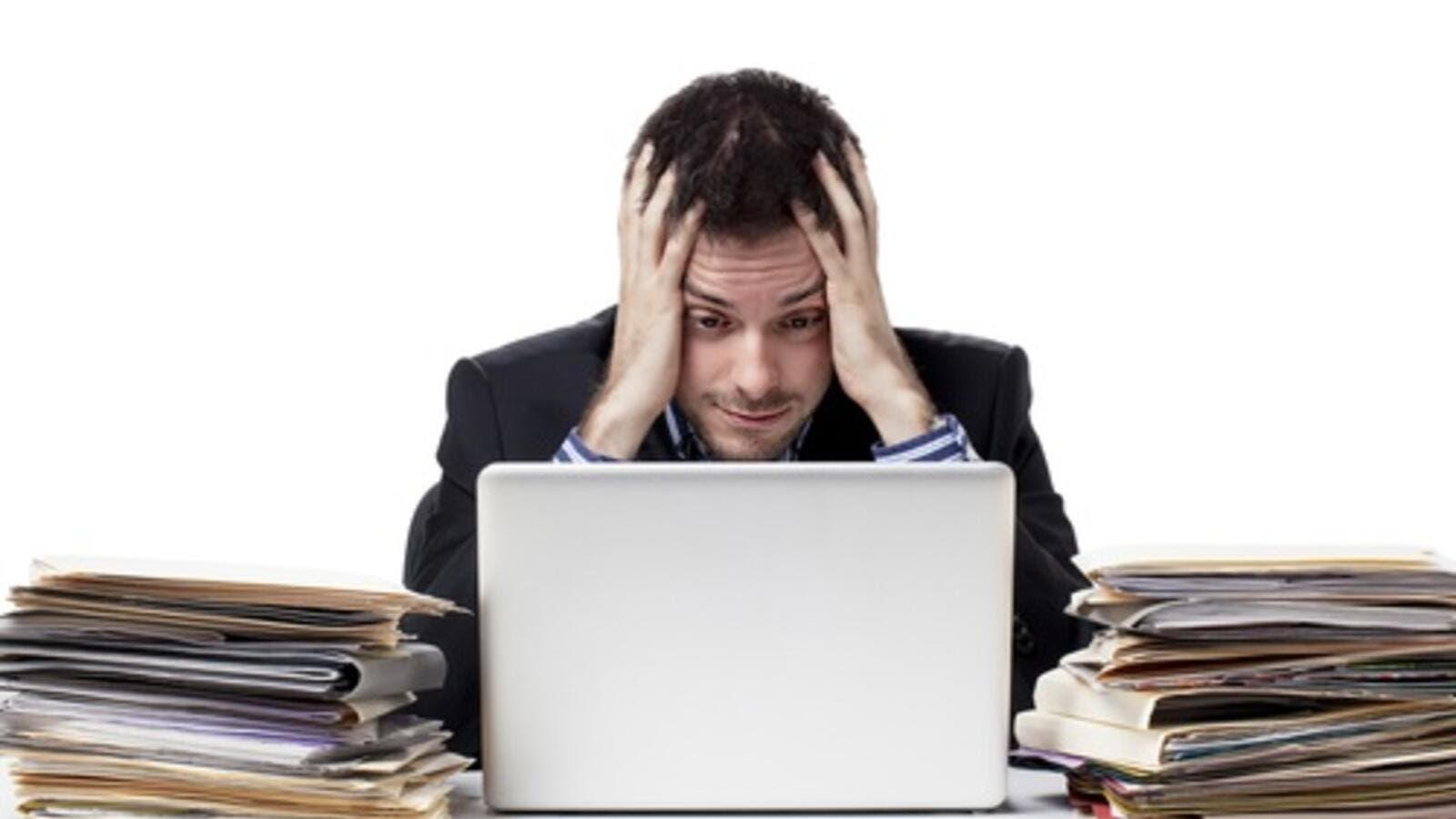 In the iIddle East, 66 percent of workers are experiencing stress-related illnesses (Shutterstock)