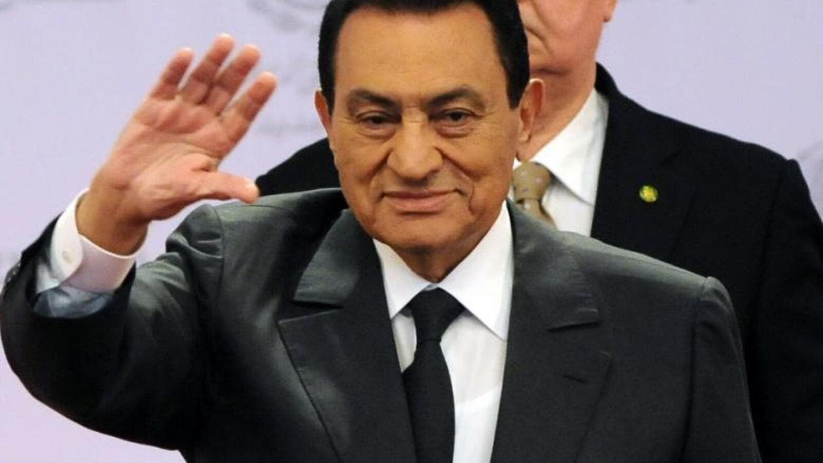 Former Egyptian President Hosni Mubarak and his two sons face corruption charges for using public funds to upgrade private properties. (Albawaba.com/File)
