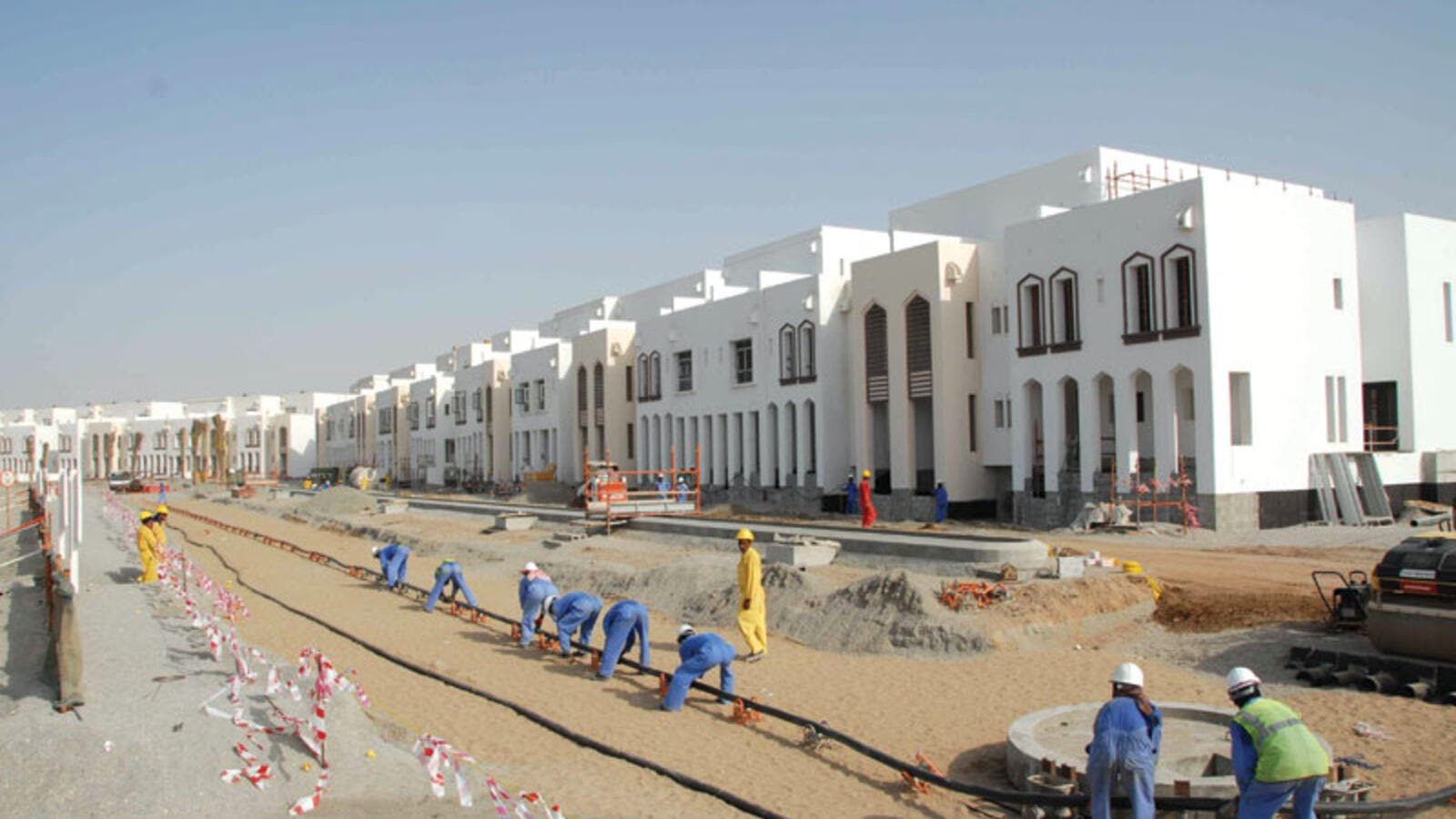 Construction in Muscat. (AFP/File)