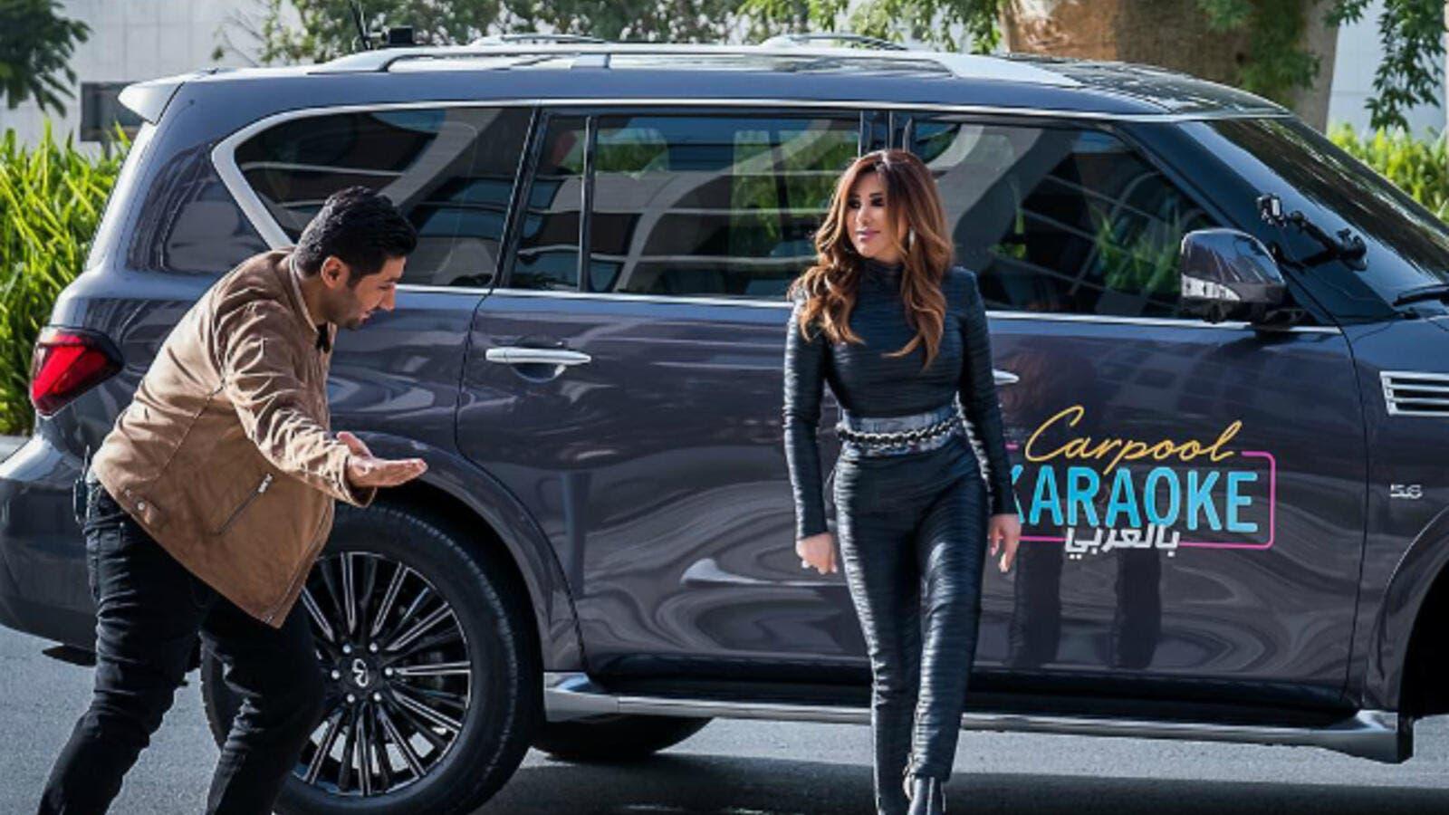 Najwa Karam Suddenly Withdraws From Car Pool Karaoke Arabia Al
