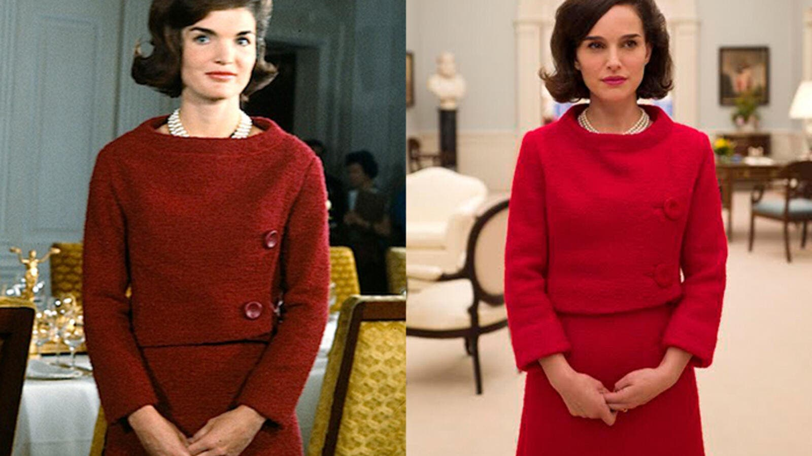 Portman as First Lady Jackie Kennedy. (HitFix)