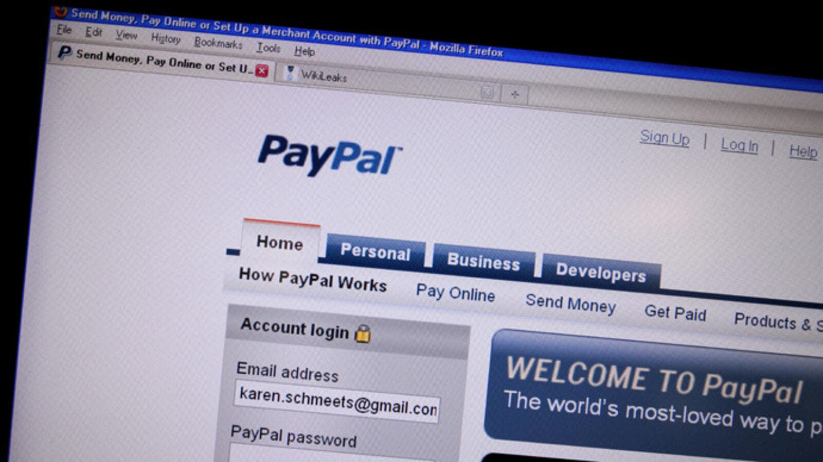 #PayPal4Palestine campaign is calling for a rethink (AFP / Karen Bleier)