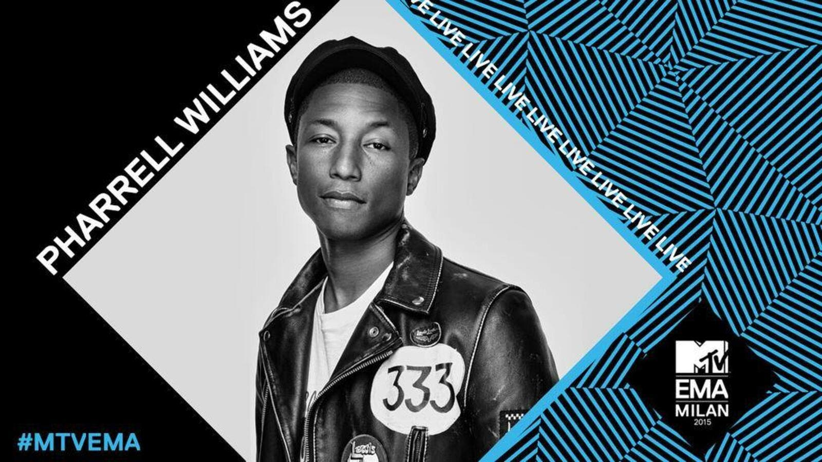 "US pop star Pharrell Williams dedicates new single ""Freedom"" to world's refugees. (Facebook)"