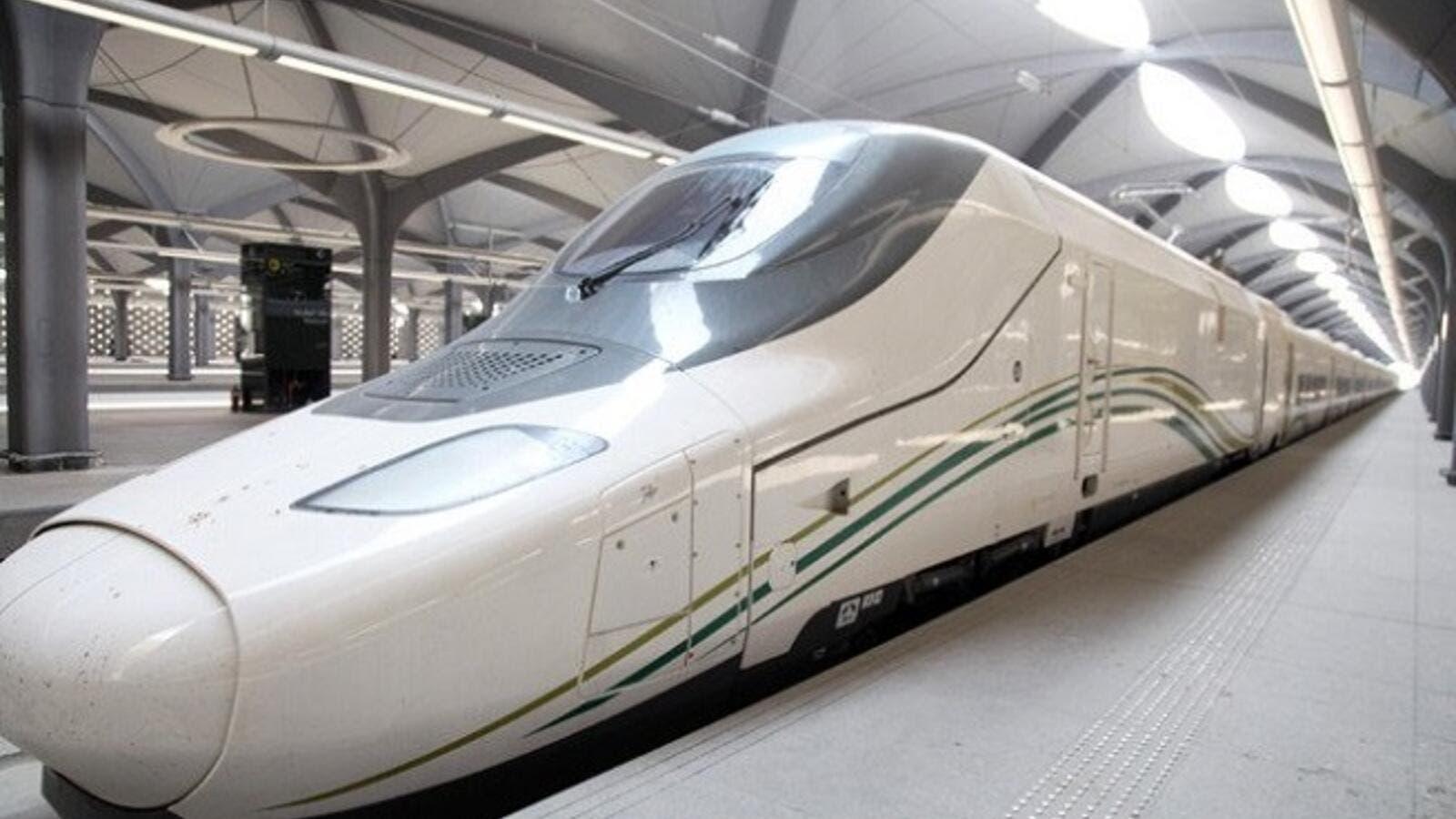 KSA's Haramain Train Makes First Free Trip With 200 Citizens