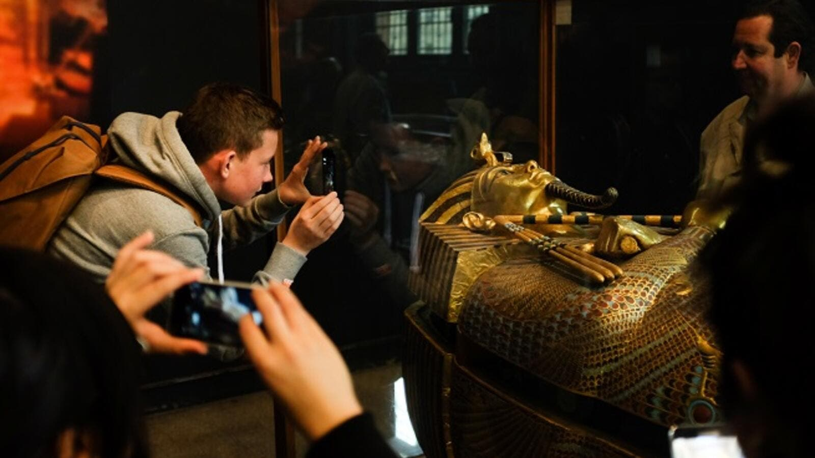 The insurance coverage of King Tut's belongings to be shown abroad was valued at $862 million, said Egypt's Minister of Antiquities Khaled El-Anany. (Shutterstock)