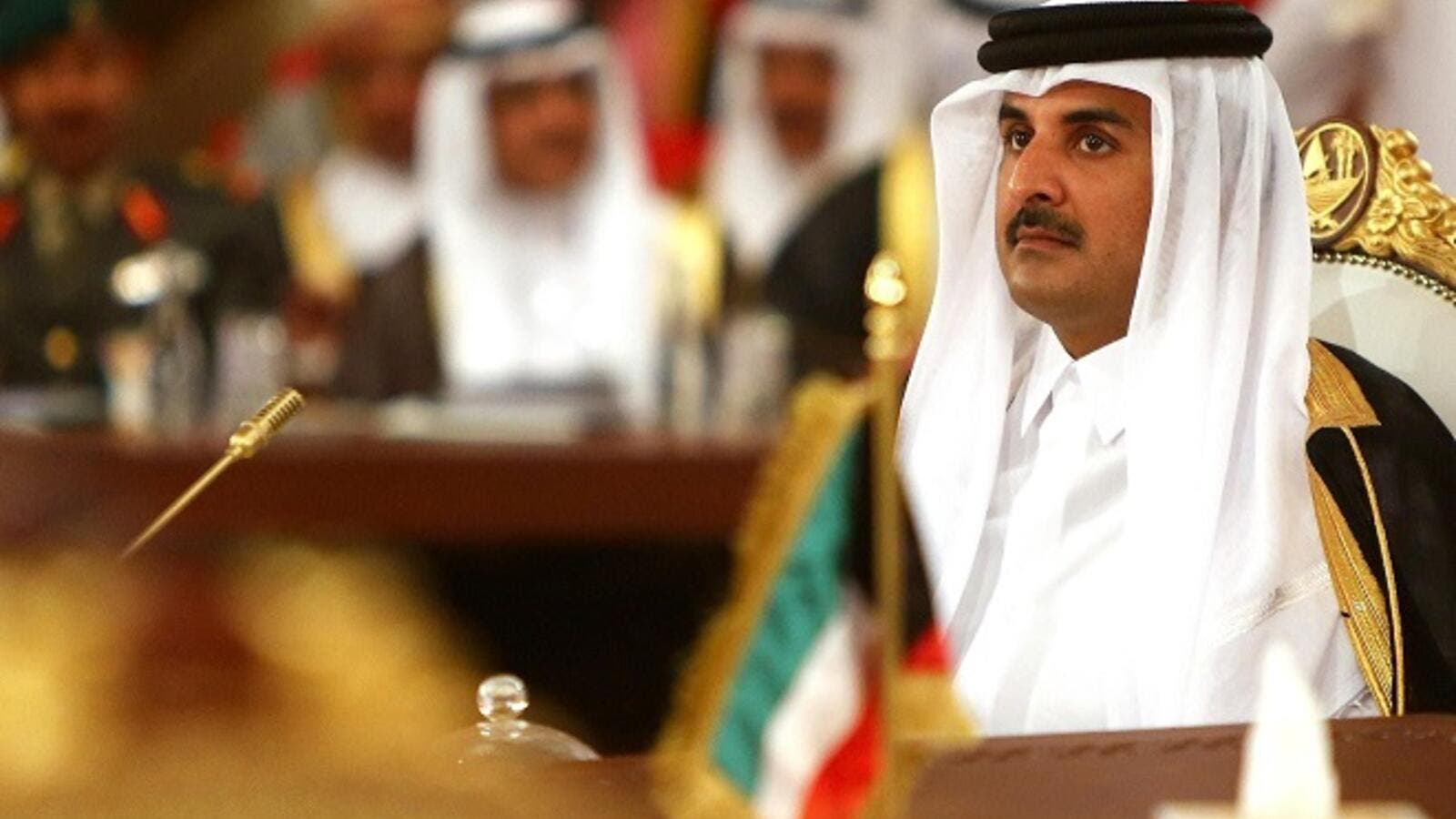 Qatar said Wednesday it had begun an inquiry into an unprecedented security breach by hackers who posted fake news stories attributed to its ruler on highly sensitive regional political issues. (AFP/ Marwan Naamani)