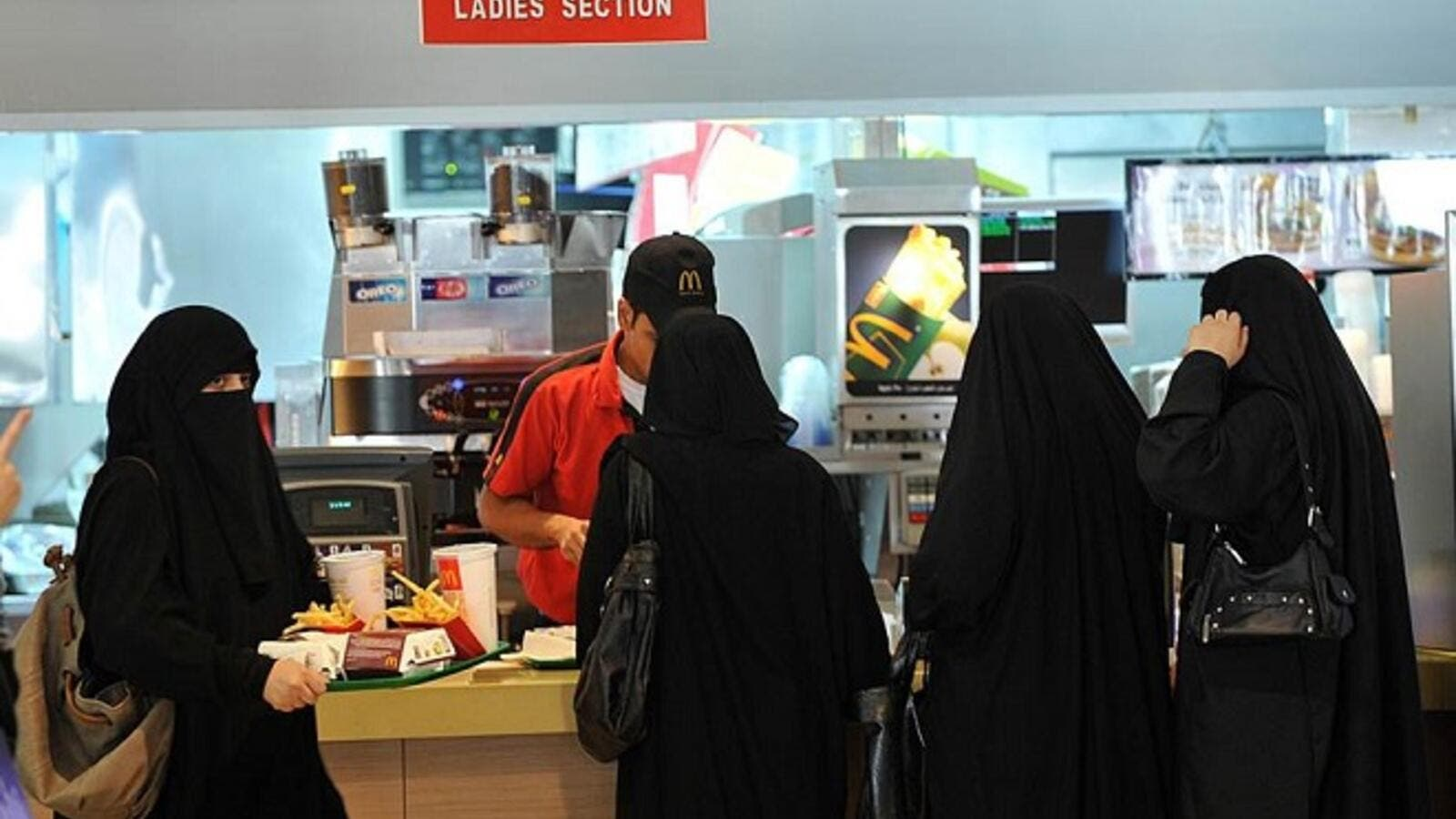 Saudi women are still segregated from men in many walks of life. (Fayez Nureldine/ AFP)