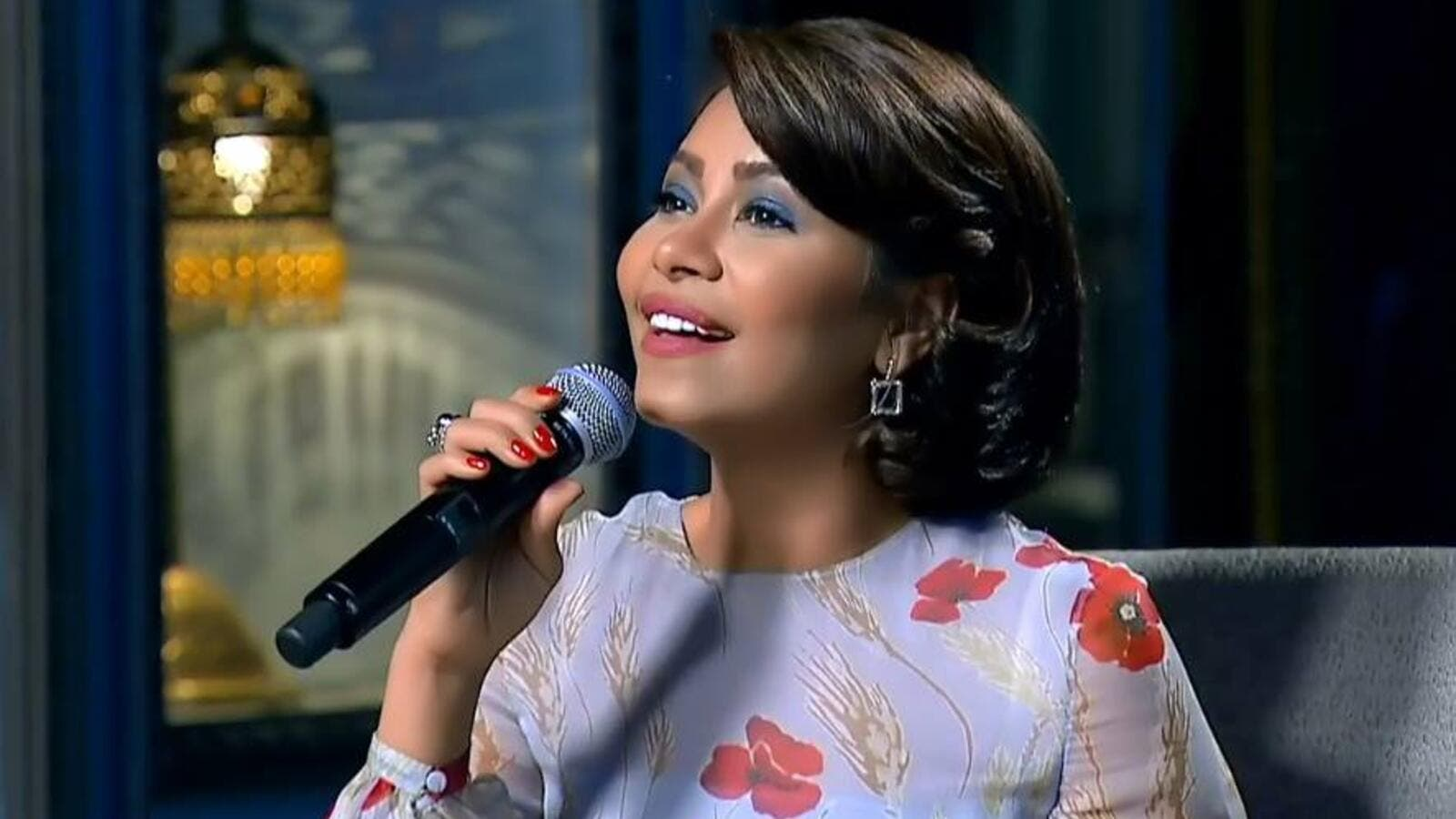 Sherine will now become a TV host as well. (Facebook)
