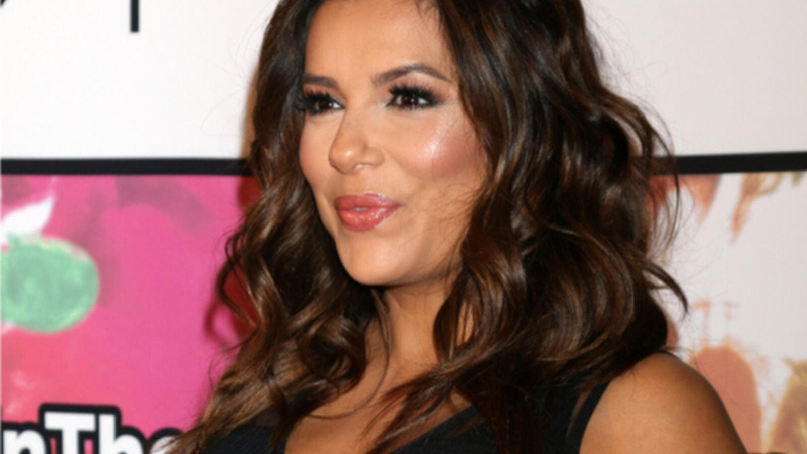 Eva Longoria looked ready to pop (Source: Kathy Hutchins / Shutterstock )