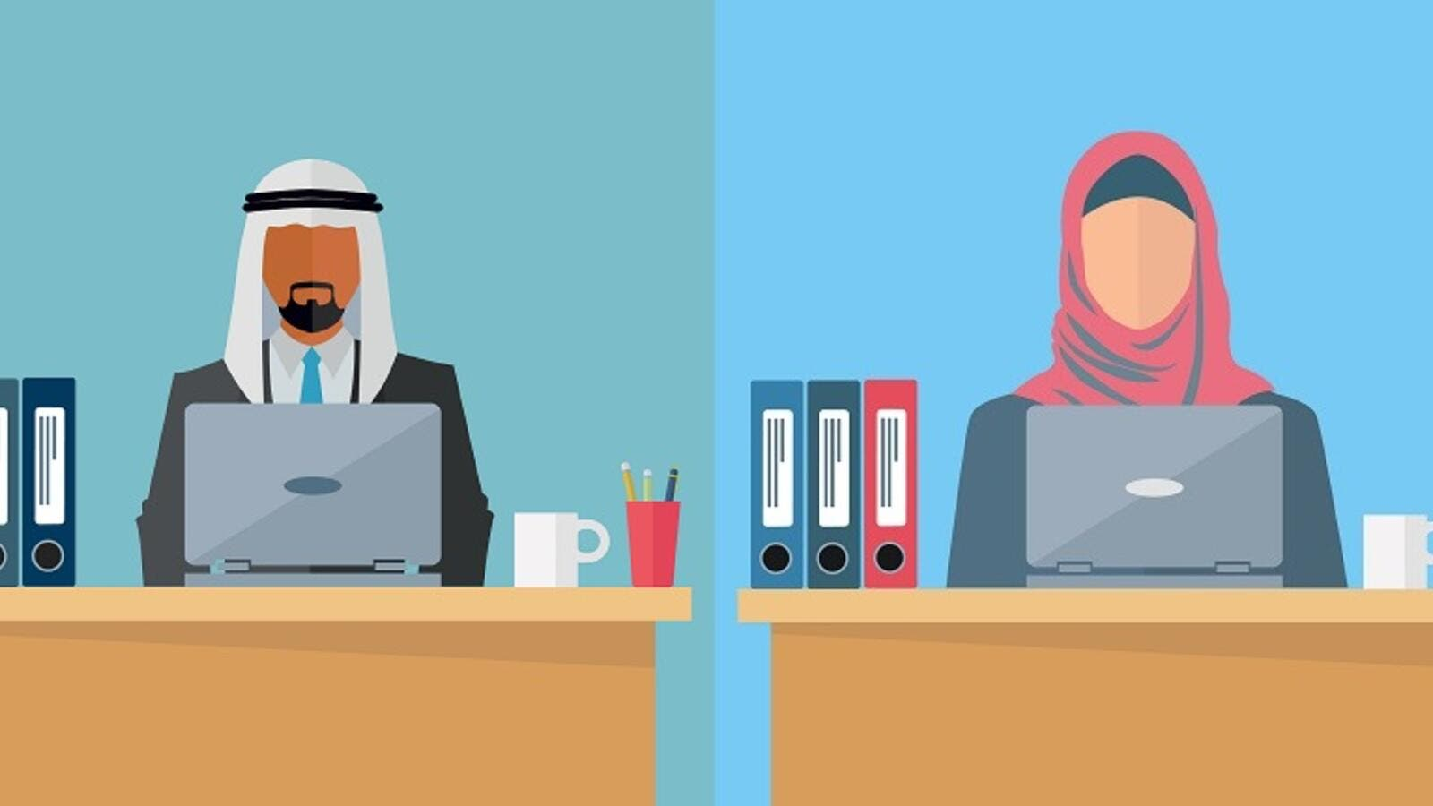 UAE launches a guide for gender balance in the workplace (Shutterstock Composite).