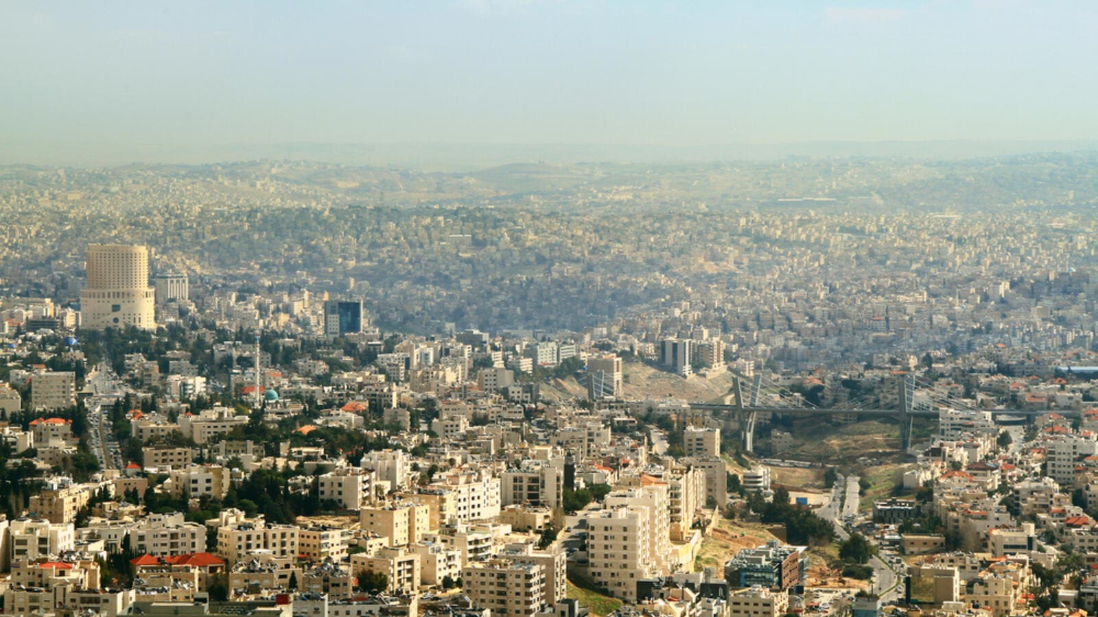 The view of Amman city (Shutterstock)