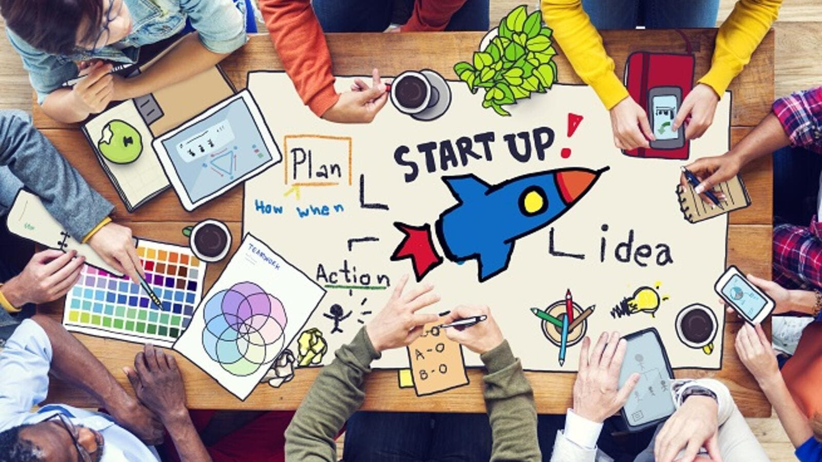 UAE's thriving startup industry attracts global VCs and investors. (Shutterstock)