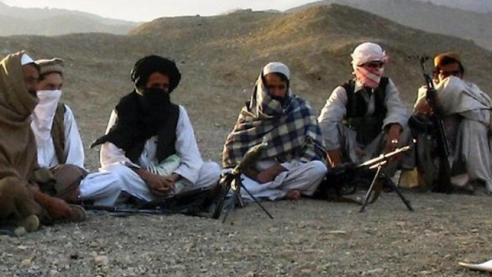 A file photo of Taliban militants in Afghanistan. (AFP/File)