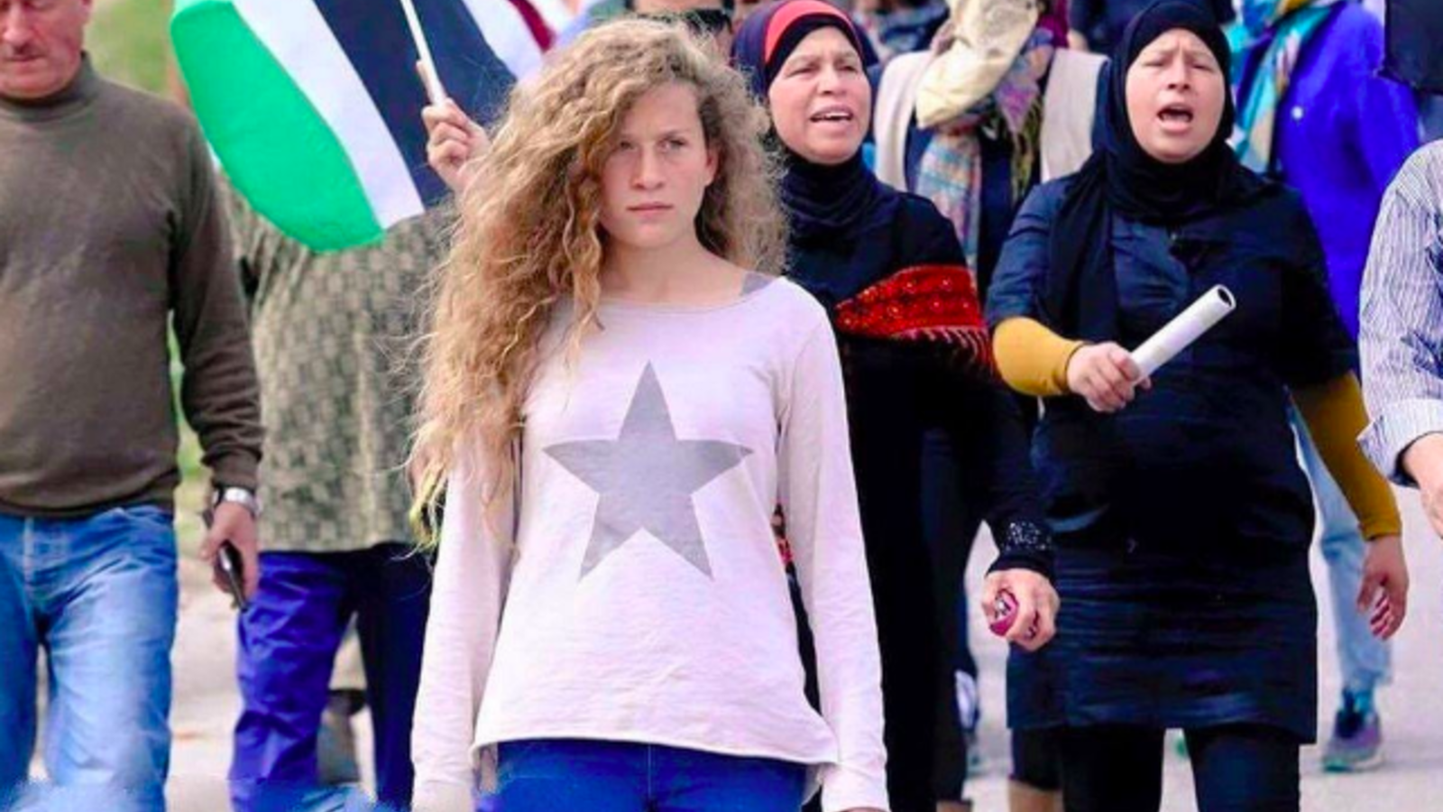 Ahed Tamimi (AFP/file photo)