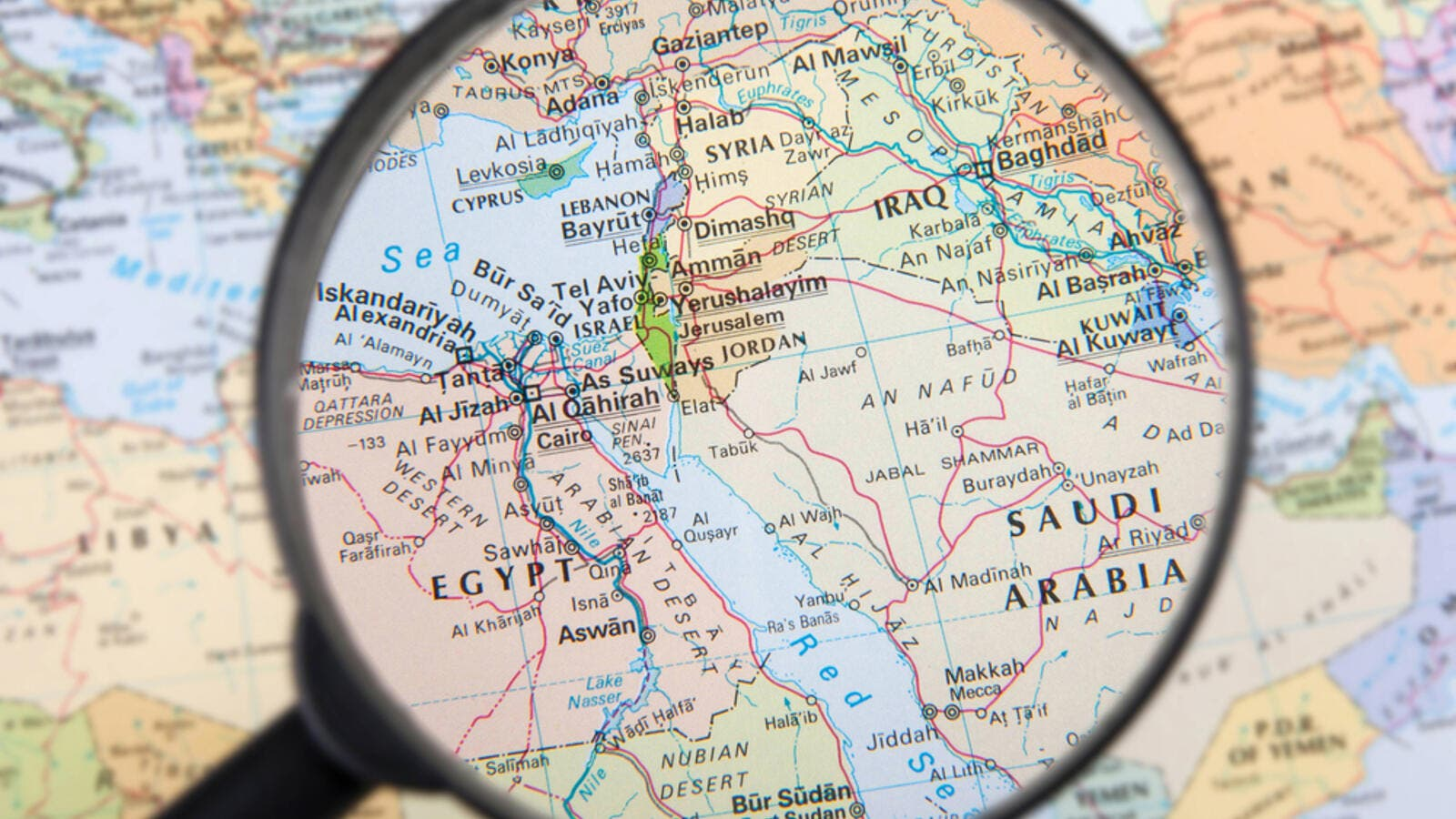 The Modern Middle East: A Reader