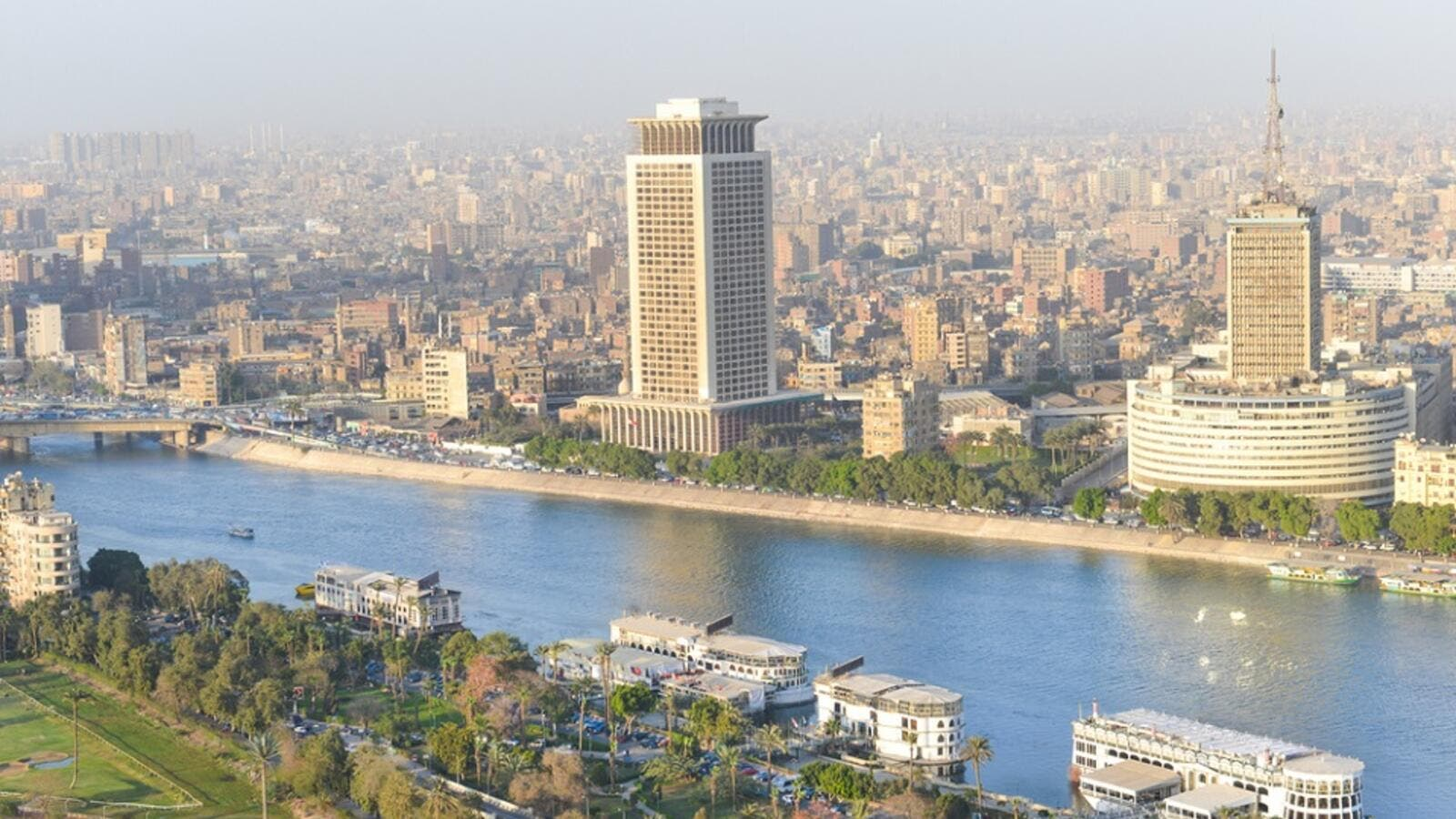 The Egyptians have since ancient times lived on some 6 percent of the country's area and governments have longed to expand it to 20 percent
