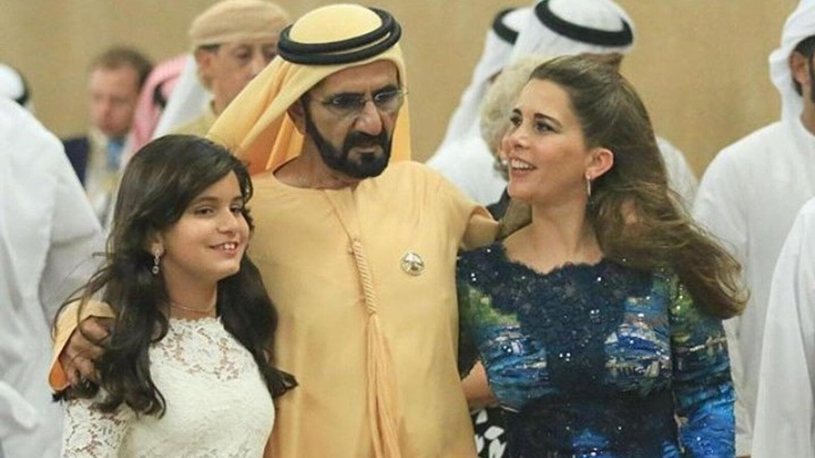 HRH Sheikh Mohammed Bin Rashid Al Maktoum, The Vice President and Prime Minister of the United Arab Emirates (UAE) and the Ruler of the Emirate of Dubai, With His Wife,  HRH Princess Haya Bint Al Hussein, with Their Daughter, HRH Sheikha Jalila (Twitter)