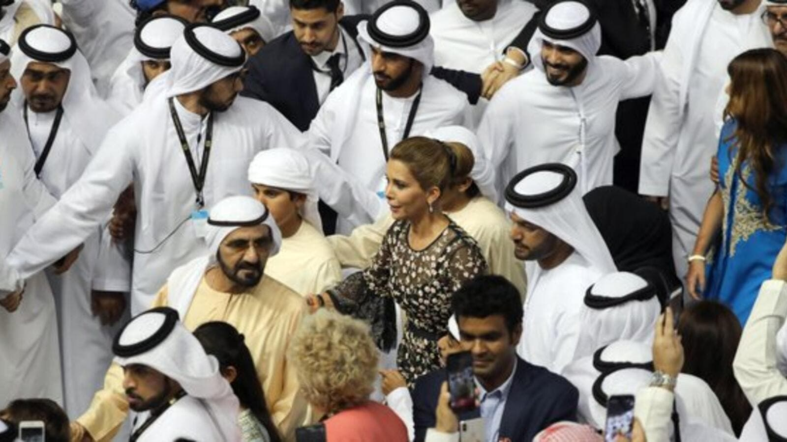 Image result for Revealed: Dubai ruler suspected his estranged wife Princess Haya had 'inappropriate contact' with her British bodyguard when he found them together during surprise visit to their £85m London home