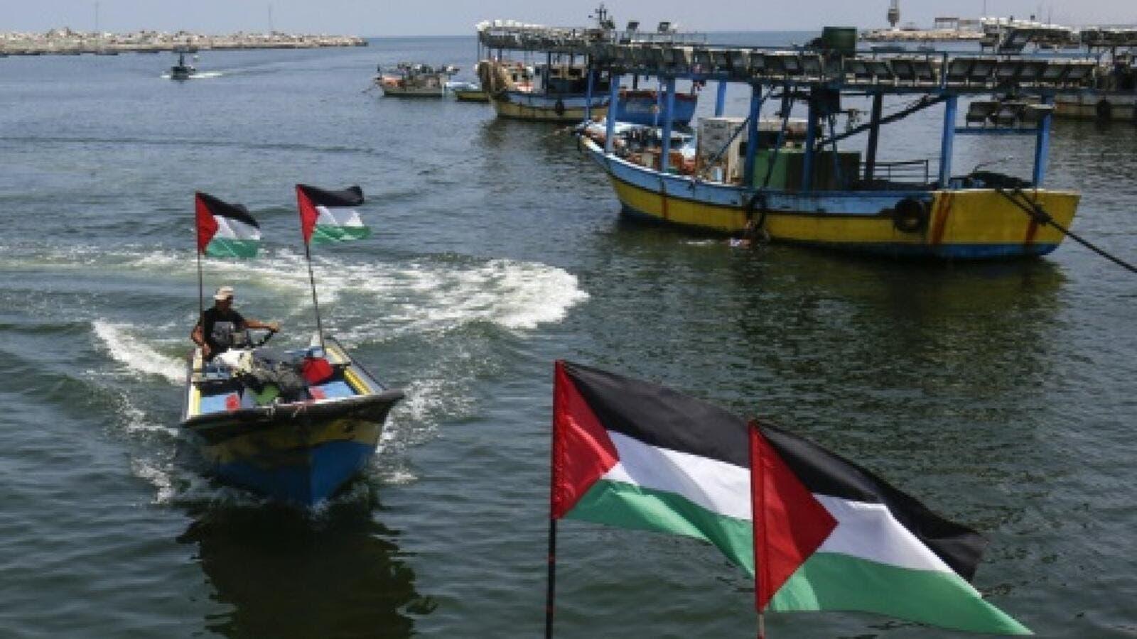 اسرائيل تقلص مساحة صيد الاسماك قبالة شواطئ غزة