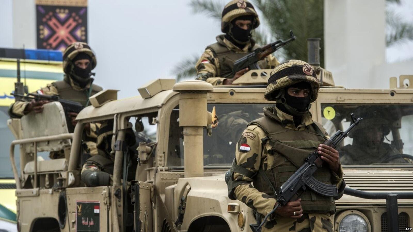 الجيش المصري ارتكب جرائم حرب في سيناء