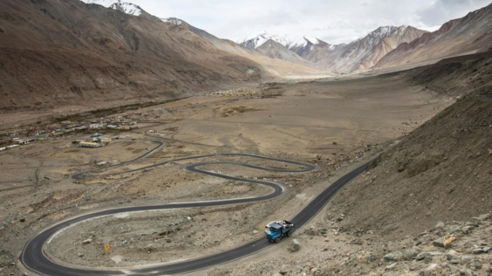 Ladakh, Kashmir borders the Chinese regions of Tibet to the east and Xinjiang to the north /AFP