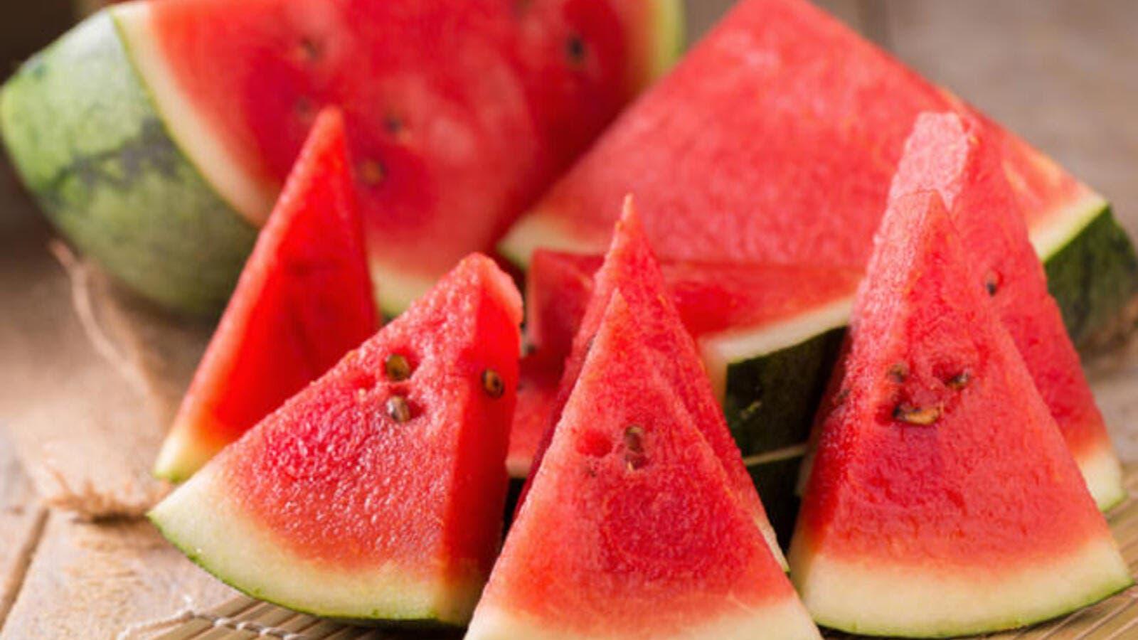 فوائد البطيخ للرجيم