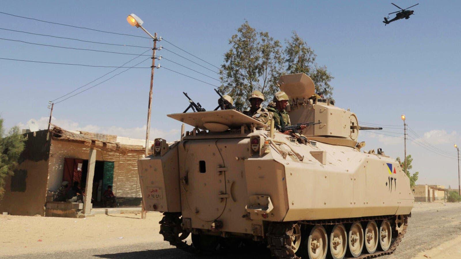 الجيش المصري ينفذ عمليات نوعية في سيناء