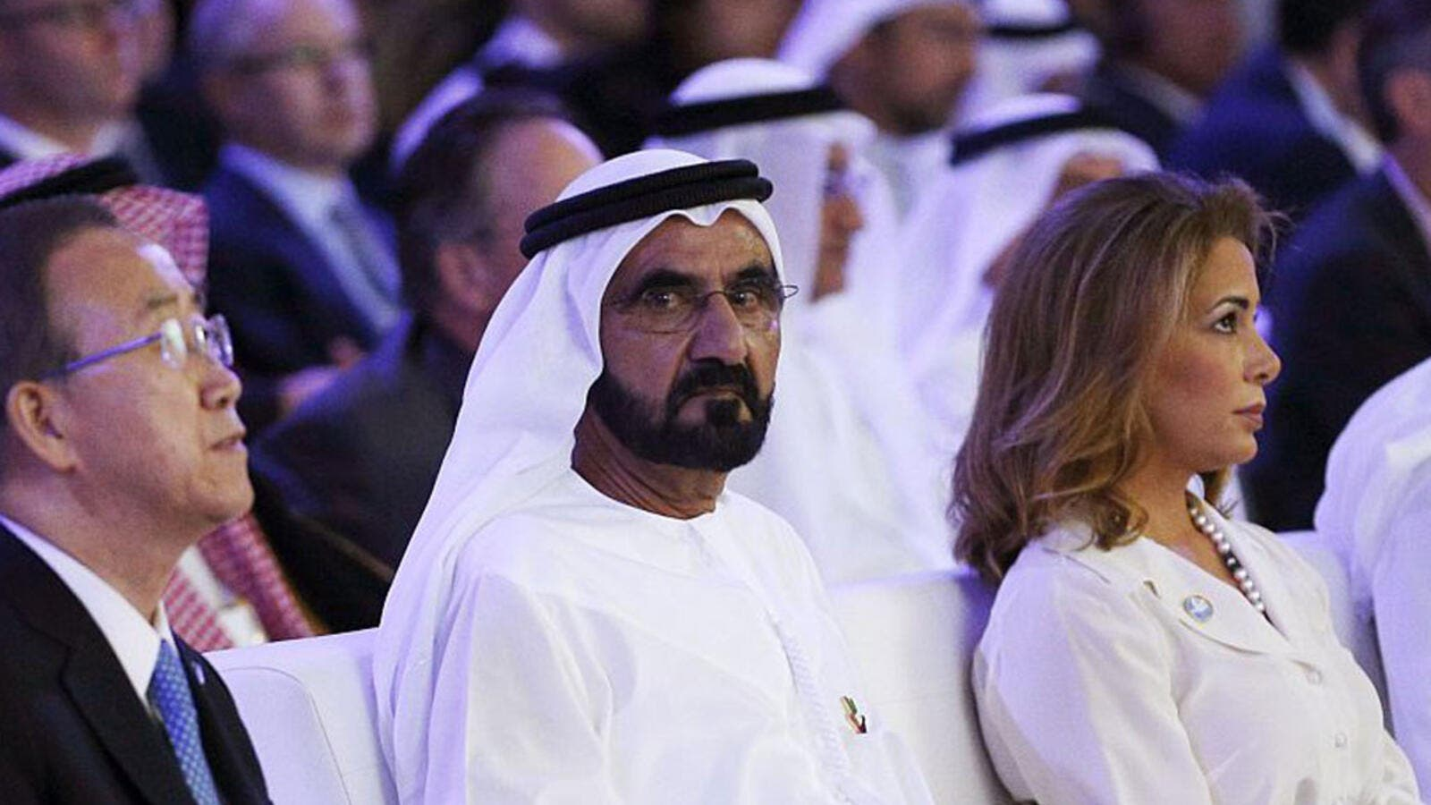 Ruler of Dubai Sheik Mohammed bin Rashid and his wife Princess Haya (AFP/FilePhoto)