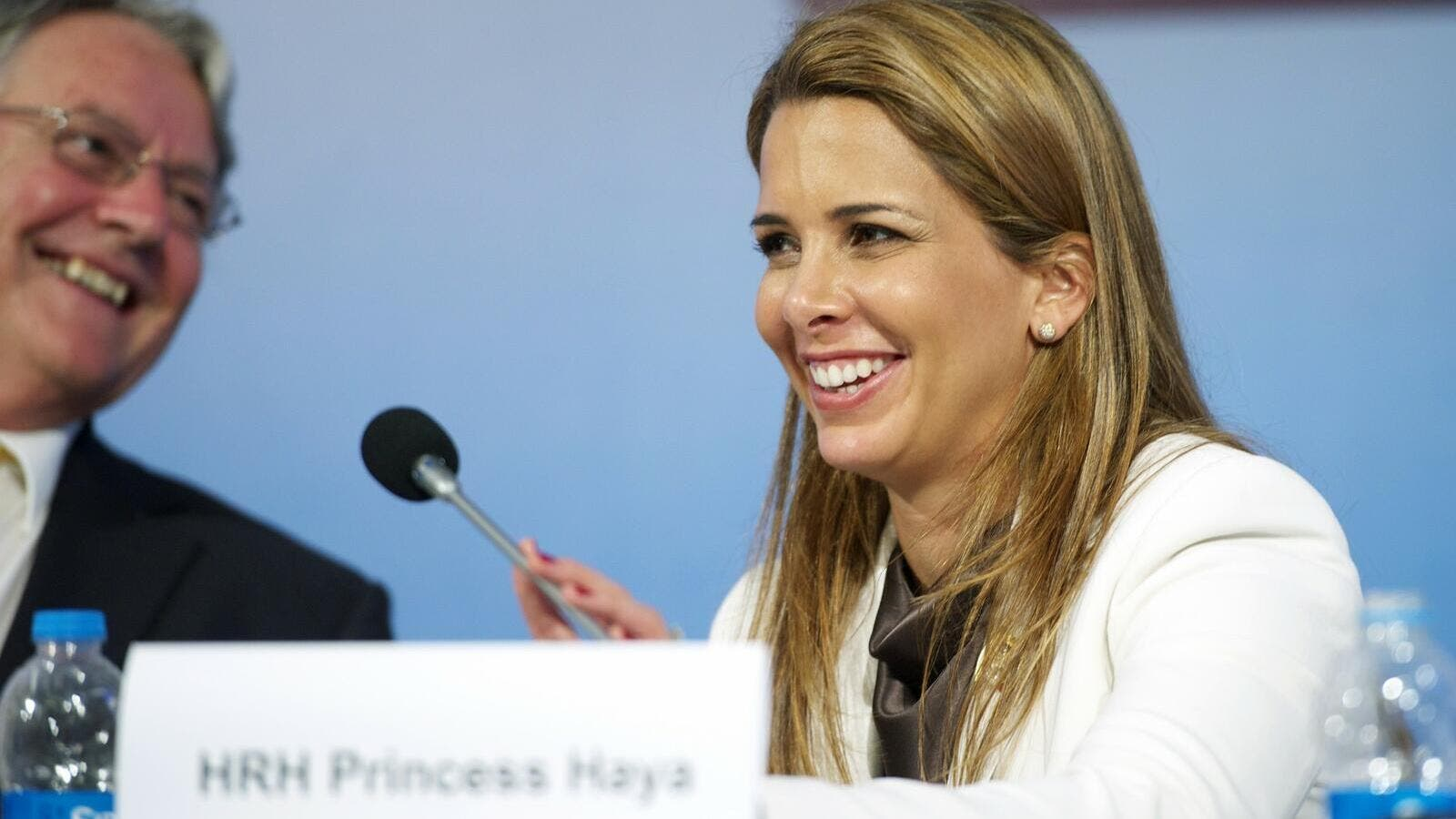 Princess Haya, sister of Jordan's King at the FEI General Assembly 2012 (princesshaya.net)