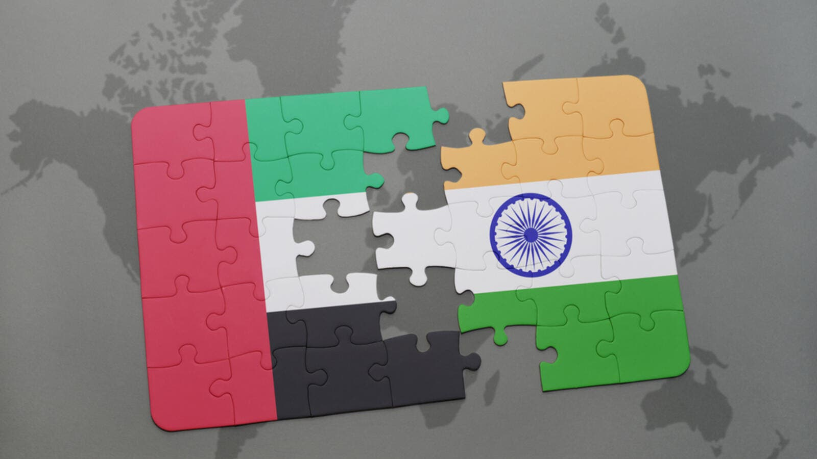 "UAE-India relations are ""at their best ever""."