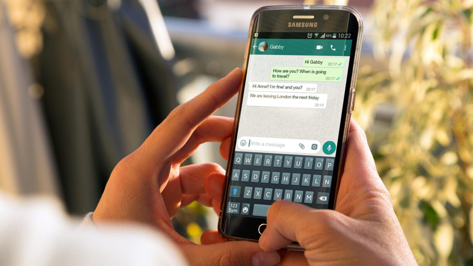 "WhatsApp encouraged users to ""upgrade to the latest version of our app"