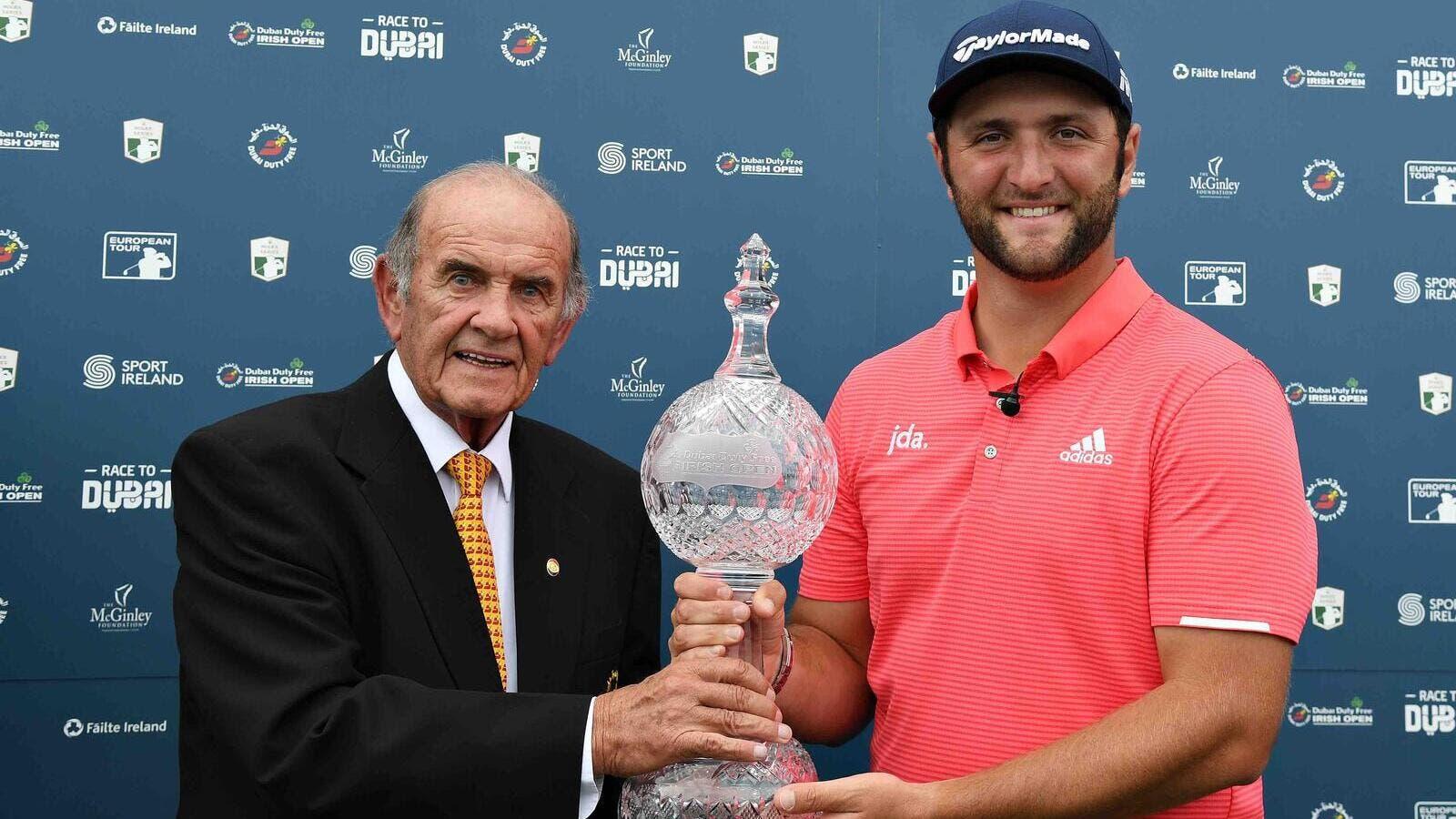Rahm roars to seal second Irish Open title