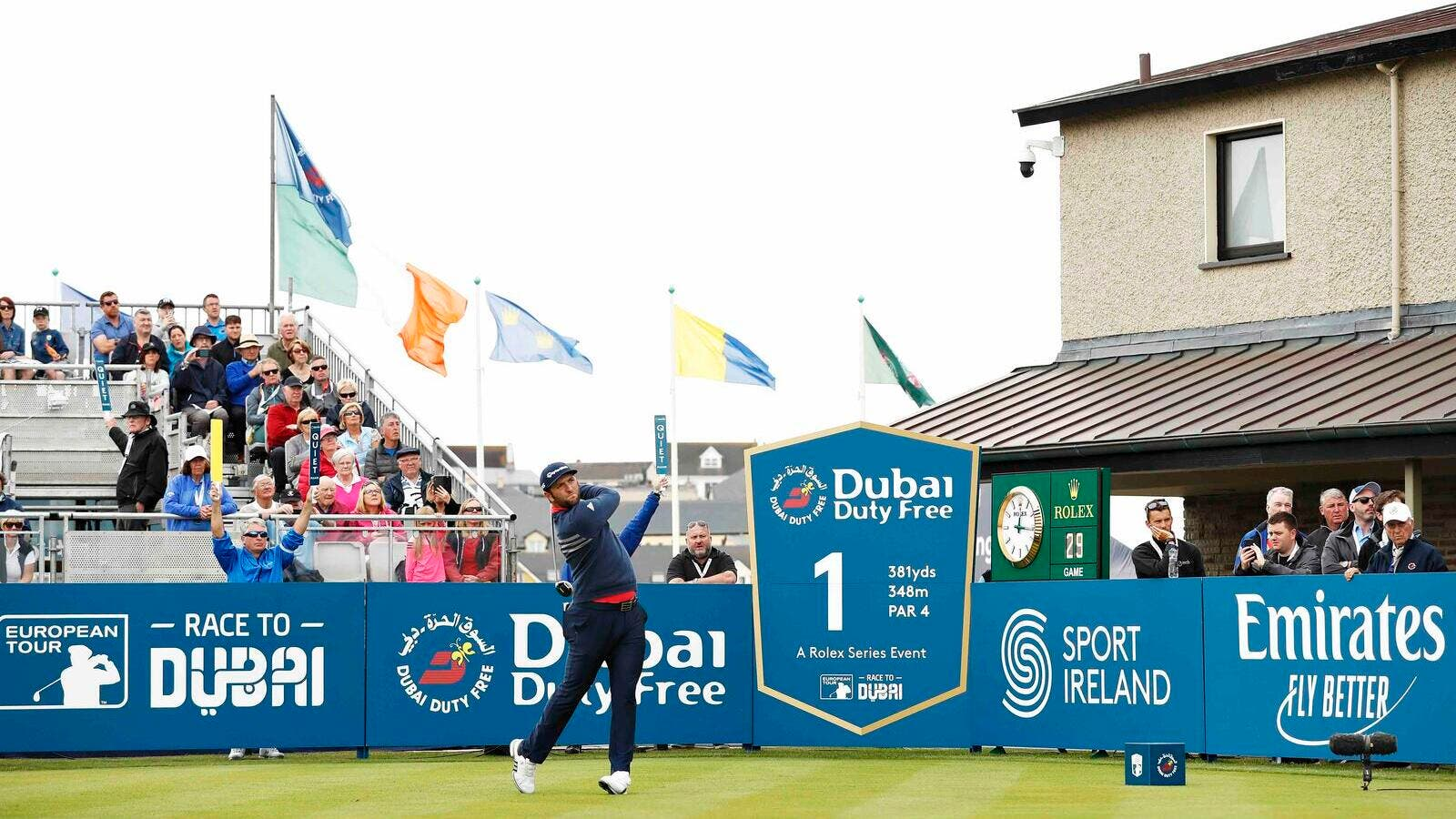 Rahm roars to seal second Irish Open title