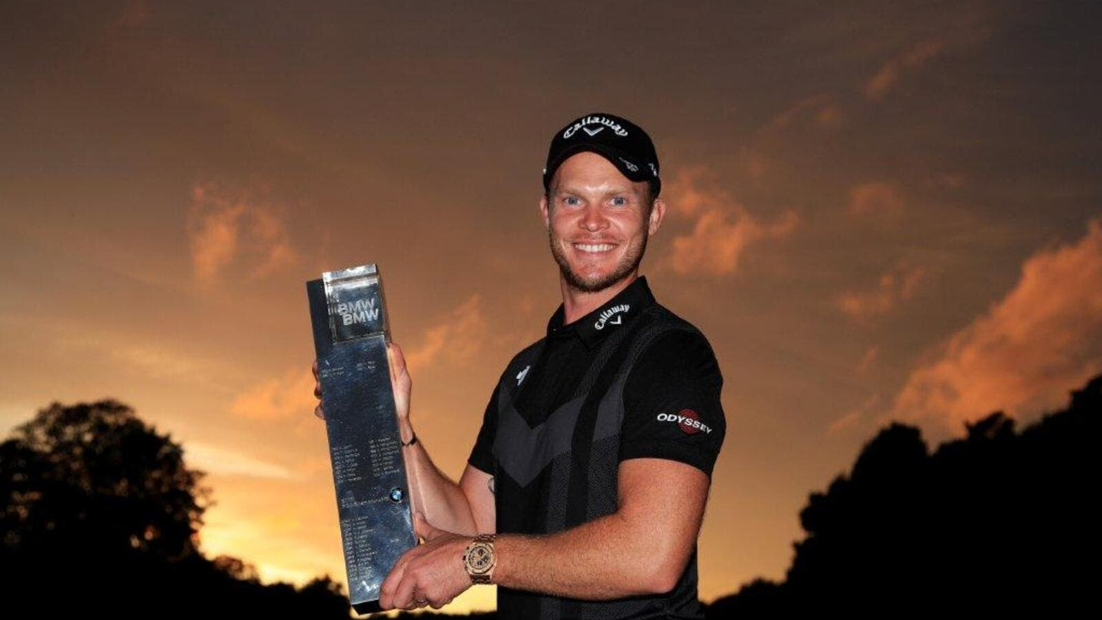 Willett with the BMW PGA Championship trophy