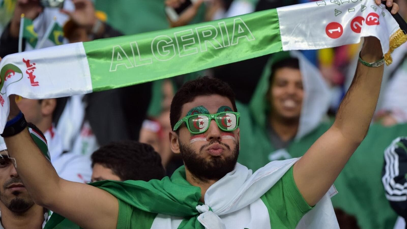 Algerian authorities have chartered ten planes to transport football fans to the African Cup of Nations semi-final game against Nigeria.