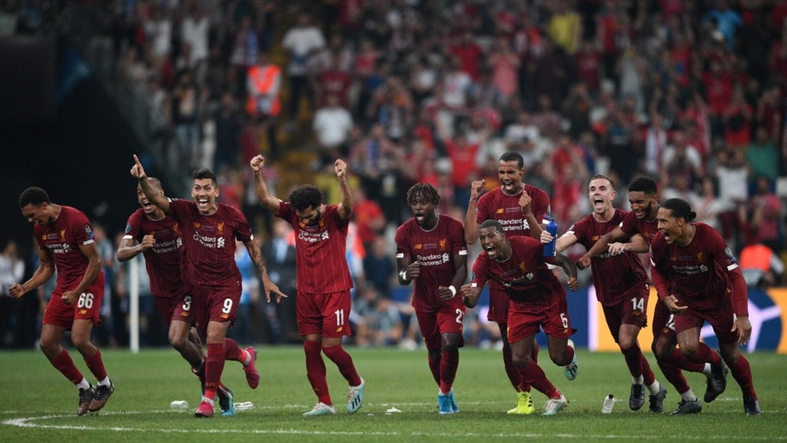 Tammy Abraham saw Chelsea's fifth penalty saved by Adrian as Liverpool secured the UEFA Super Cup in Istanbul.