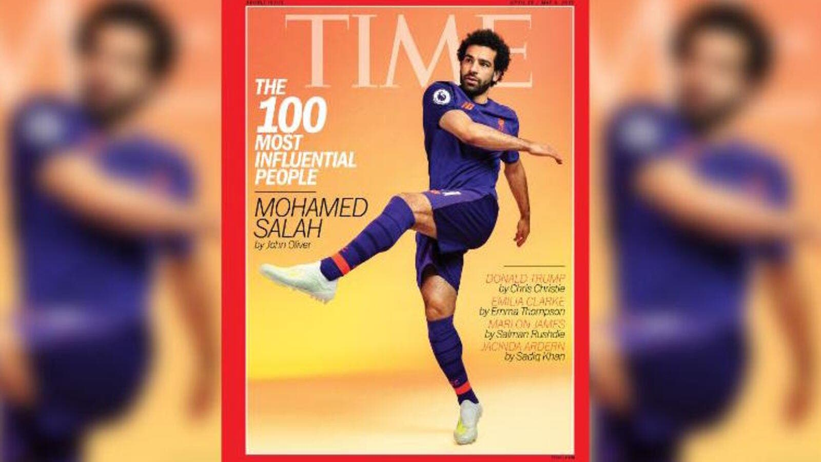 Times Magazine: Mo Salah Named Among 100 Most Influential People In The World