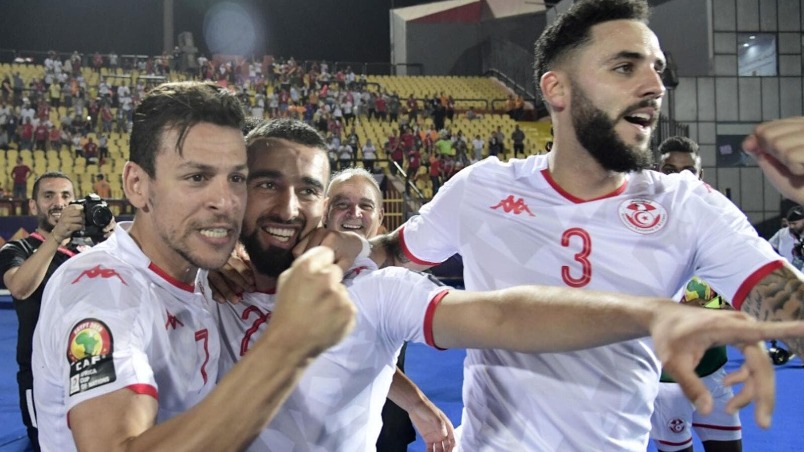 Tunisia scored three times in the second half to ease past surprise package Madagascar and set up a semi-final clash with Senegal.