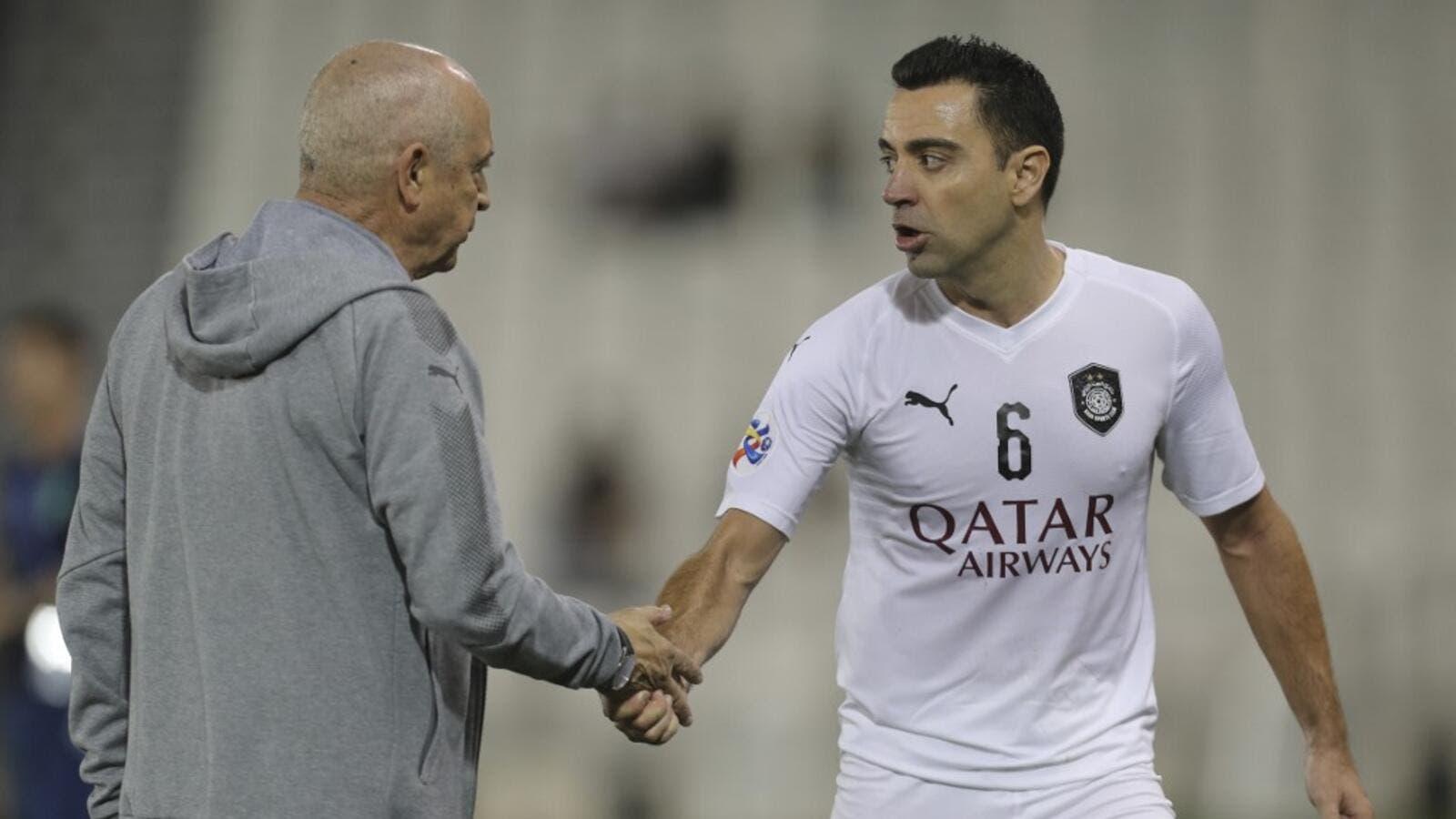 buy popular 09f48 cad99 Will Retired Xavi Be Leaving Al Sadd? | Al Bawaba