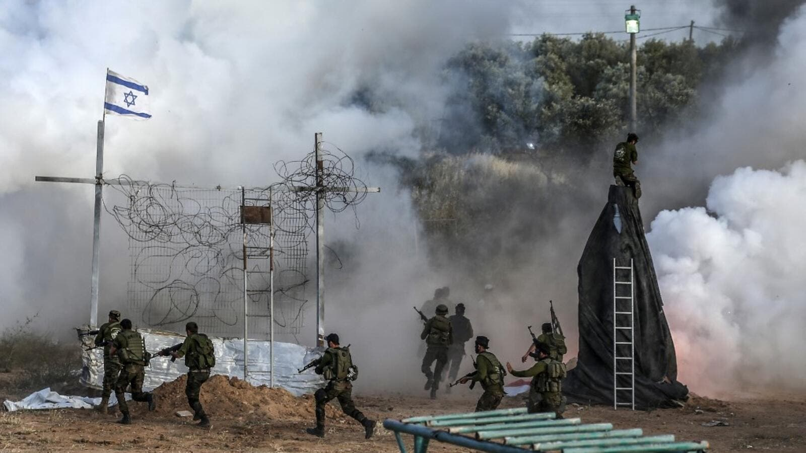 Israel hits Hamas post in Gaza