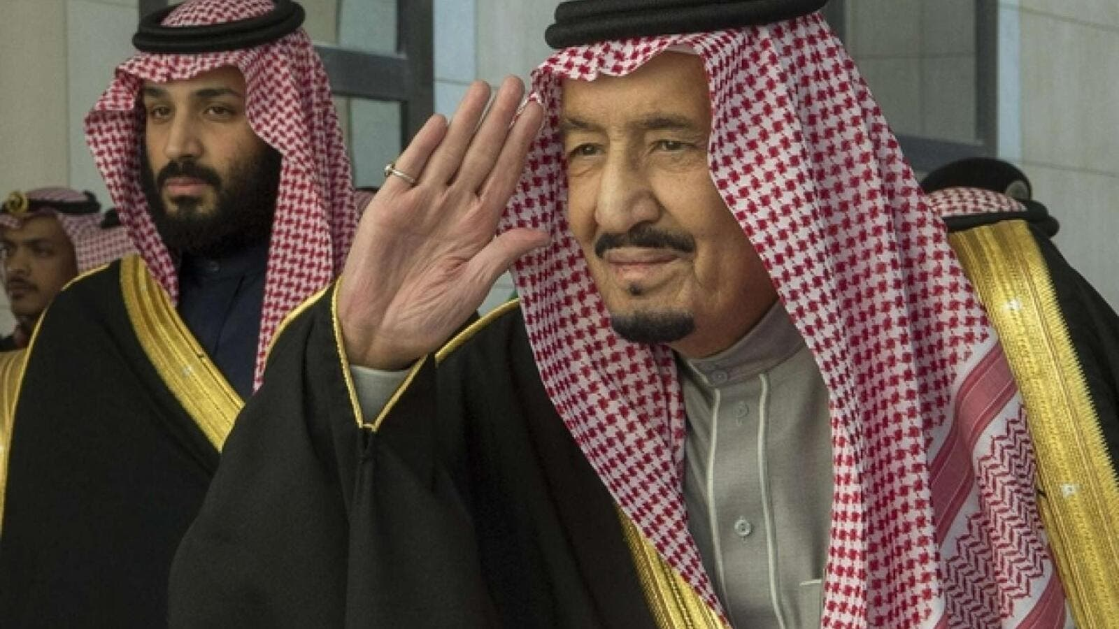 King Salman and Crown Prince Mohammed bin Salman. (AFP/ File Photo)