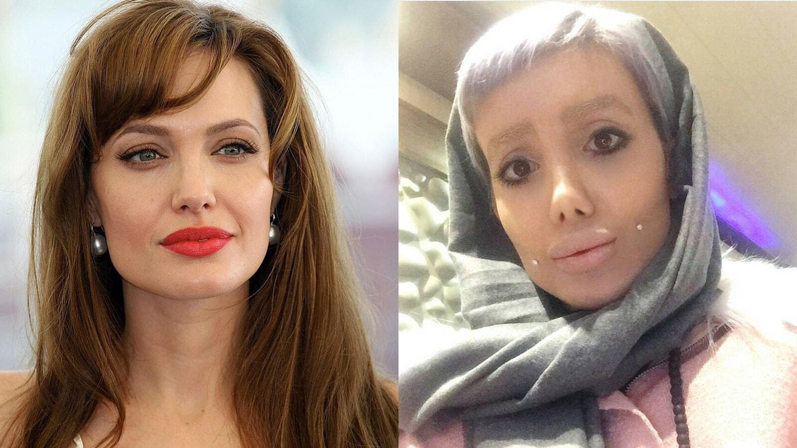 Angelina Jolie Porn Look A Like angelina jolie iranian lookalike arrested and faces charges