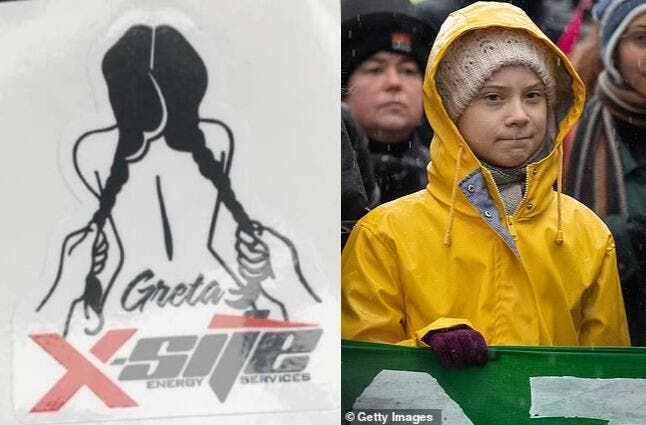 Canadian Oil Firm Under Fire After Sick Rape Cartoon Of