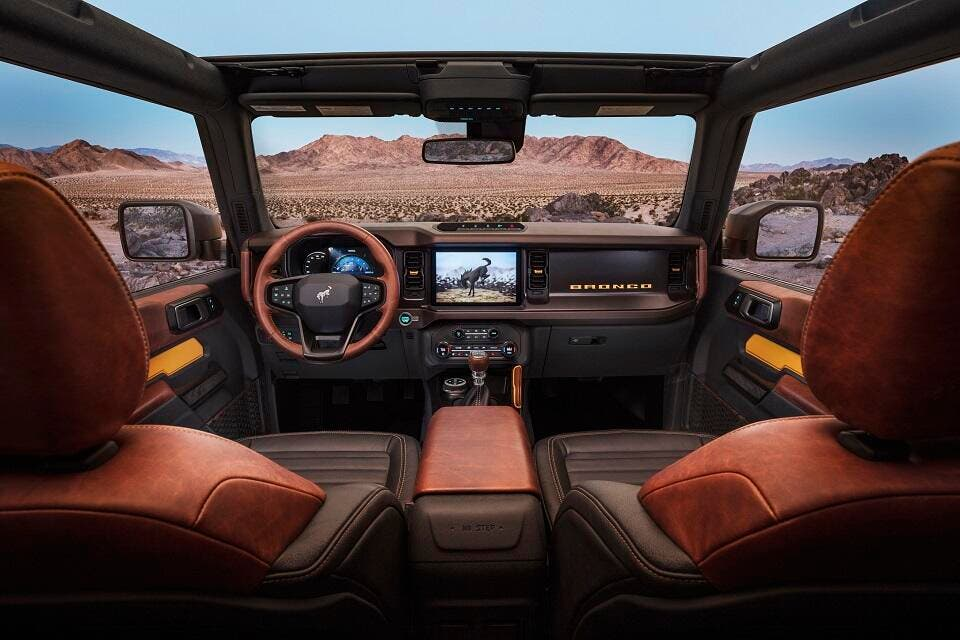 New Ford Bronco >> All-New 2021 Bronco Two-Door and First-Ever Four-Door ...