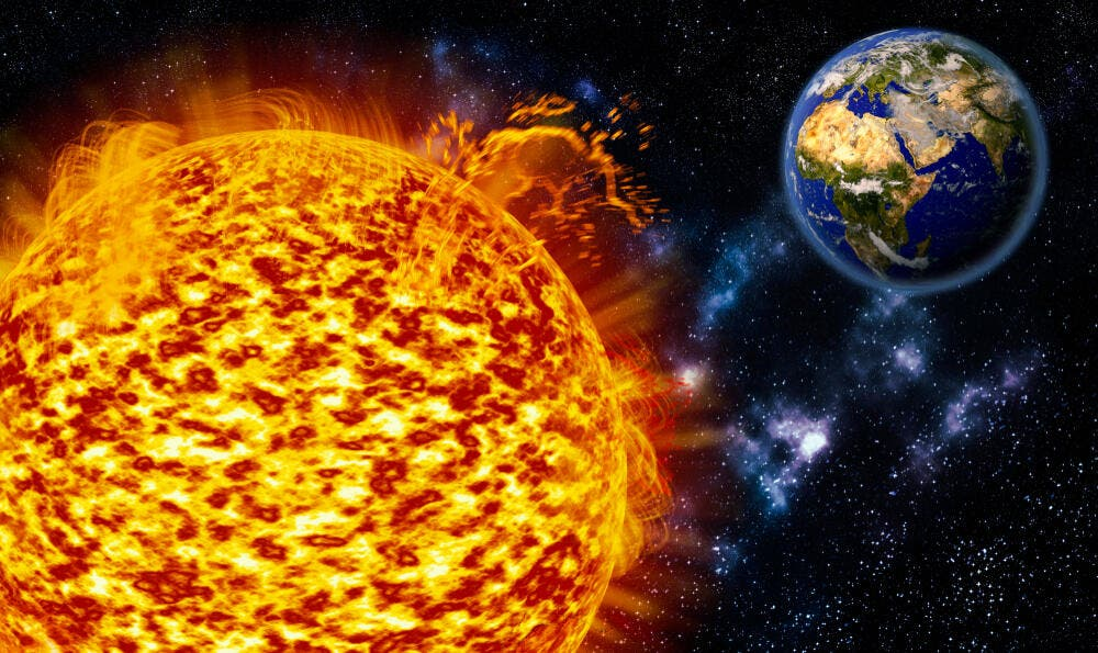 Is The World Nearing its End? Massive Sunspot Comes Close to Earth - Al-Bawaba